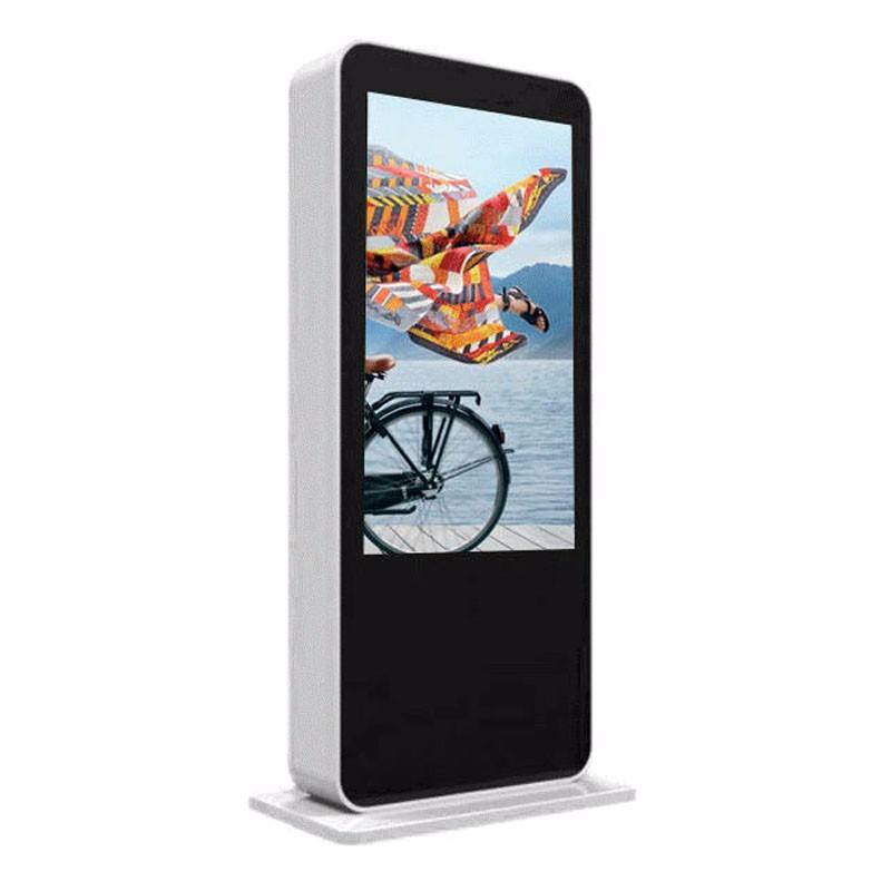 55 дюймов напольные ИК сенсорный экран киоска светодиодный дисплей <span class=keywords><strong>рекламы</strong></span> Android Digital Signage