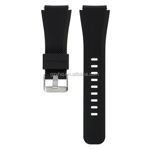 22mm Silicone Watch Band For samsung galaxy gear s3 watch silicone band straps