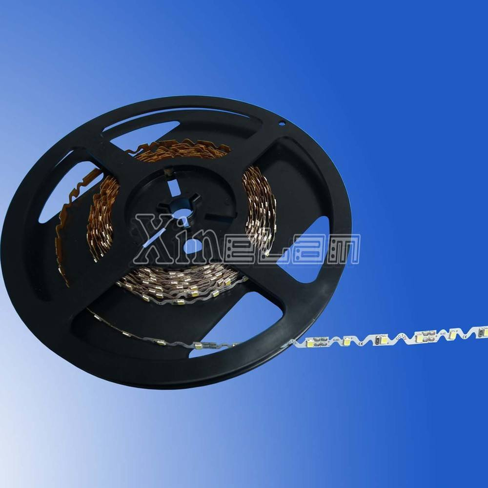 Flexibele smd led strip ultra dunne 1mm s-type smd2835 leds