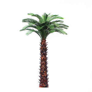 High Outdoor decorative metal palm tree artificial date palm Tree for engineering project
