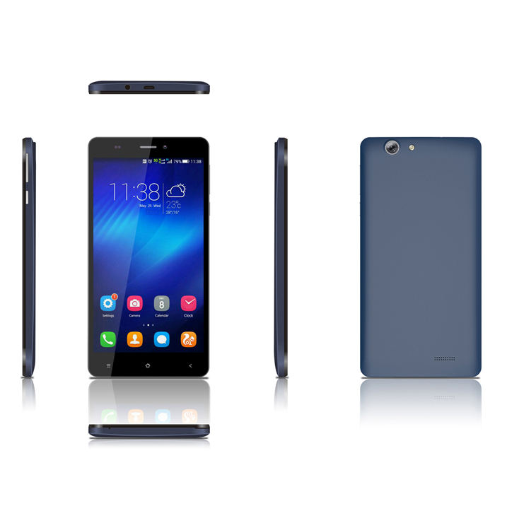 Shenzhen Handy billig 5 Zoll LTE 4G Smartphone MTK6580 <span class=keywords><strong>Quad</strong></span>-Core 3G Handy 2 5MP