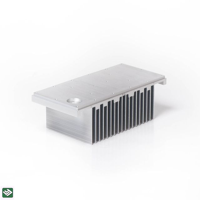 Extruded Aluminum Heat Sinks Diy Made Heatsink Building Material Extrusion 6063 t5 Profile LY1175