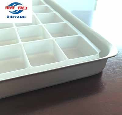 Customized Aluminum tray for freeze drying machine food processing instant soup and soluble coffee