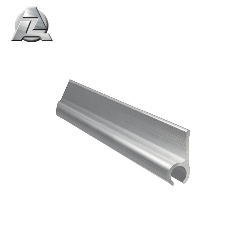 6000 series aluminium extrusion profile to keder rail