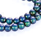 2019 most popular Natural Magnetic Hematite therapy beads Faceted & Smooth loose beads color changing with temperature