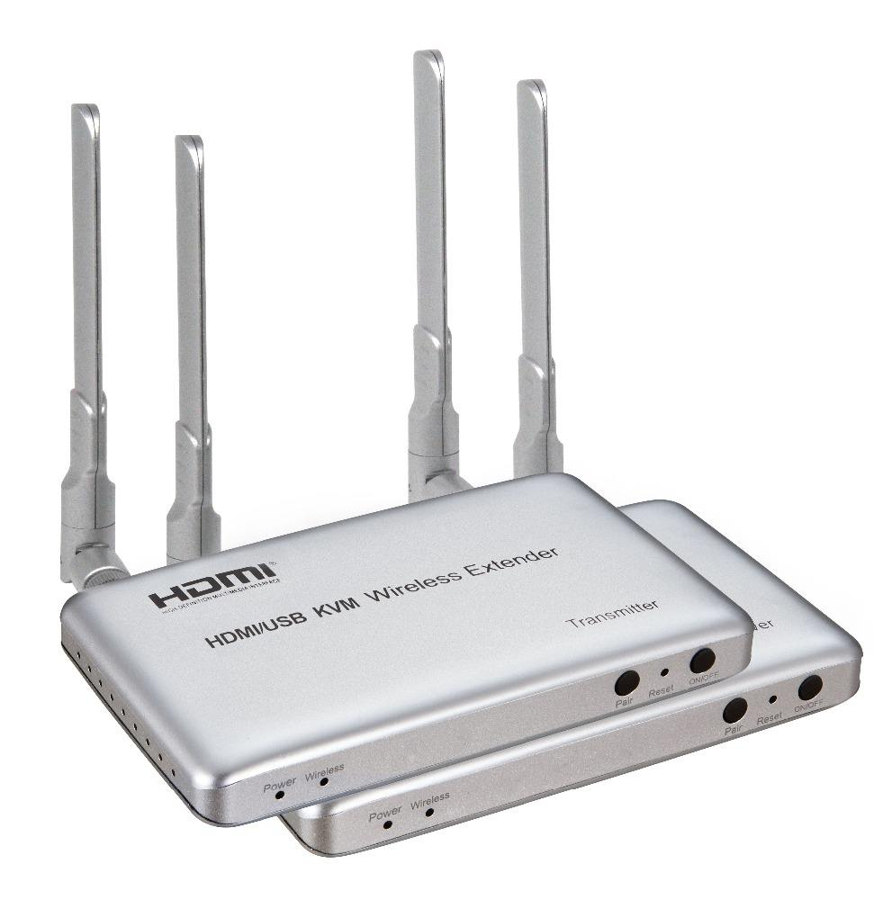 Wireless 1080P HDMI transmitter and receiver up to 50m
