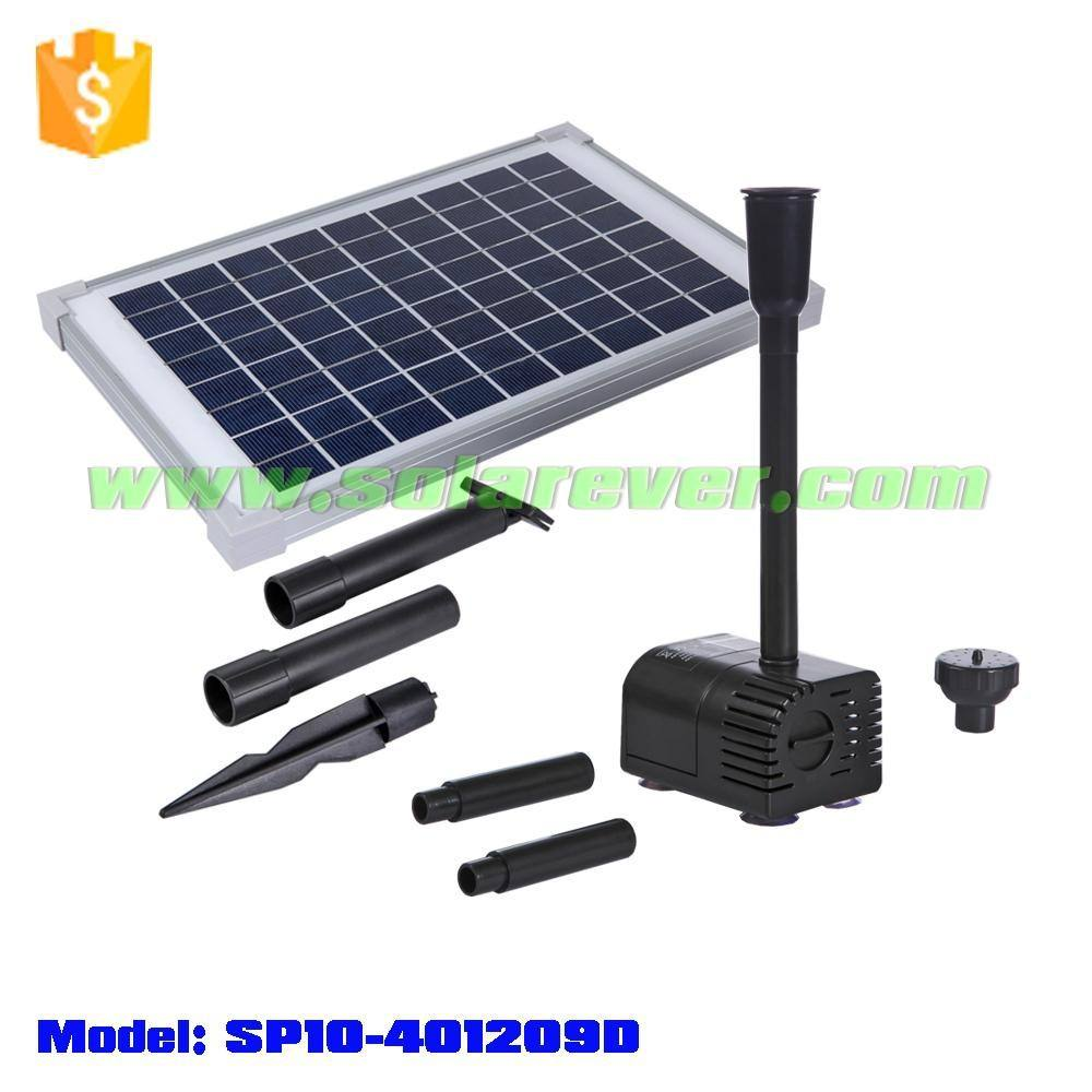 1.7m head 610LPH flow rate dry run and locked rotor protected solar pump consuming no fuel or electricity (SP10-401209D)