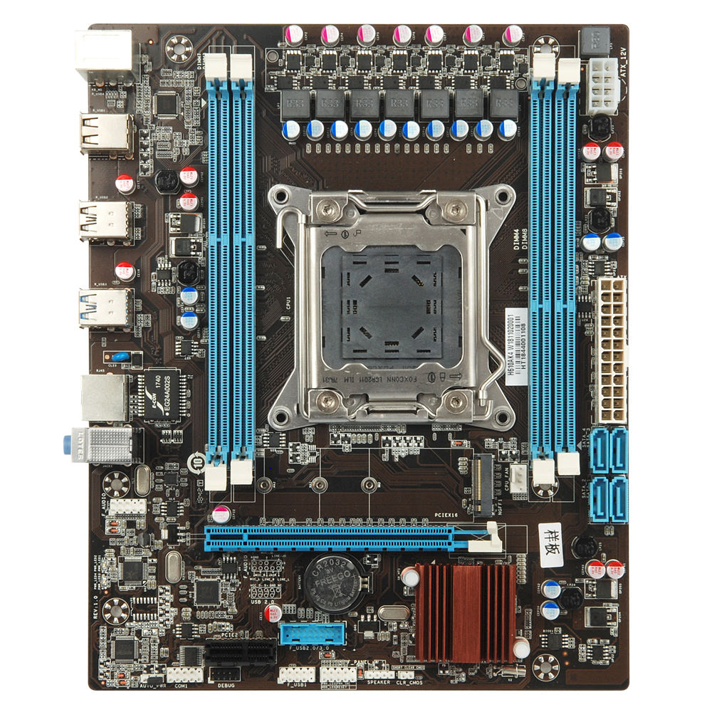 Esonic gaming <span class=keywords><strong>motherboard</strong></span>, Unterstützt LGA2011 buchse für Intel E5- V1 V2 server XEON serie Prossors