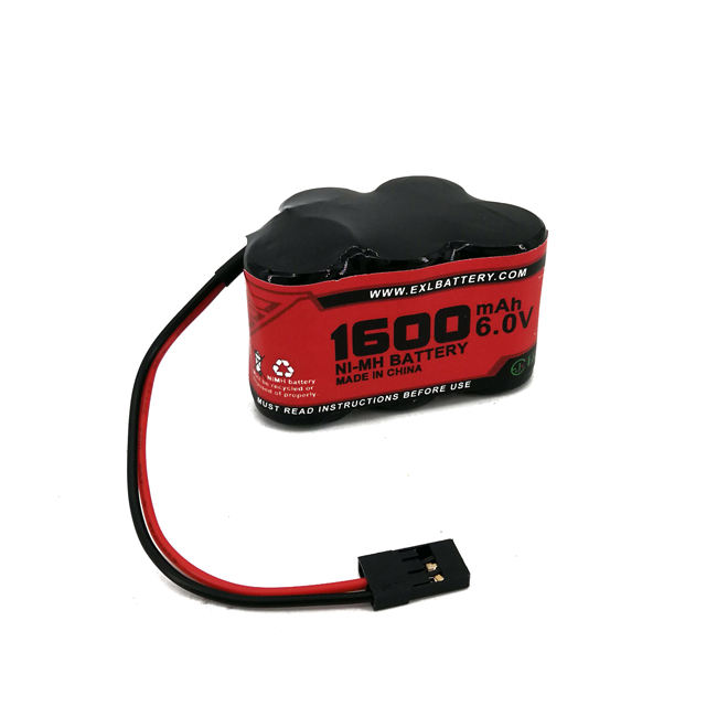 6V 1600mAh NiMH Receiver Hump Battery Pack Fits Losi TMaxx rustler HPI Ofna Mugen Kyosho Associated