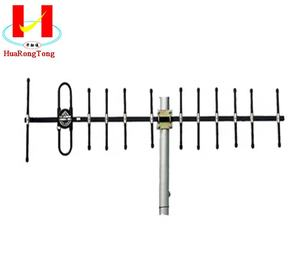 350MHz High gain Outdoor Directional UHF Yagi Antenna for Wireless TETRA System