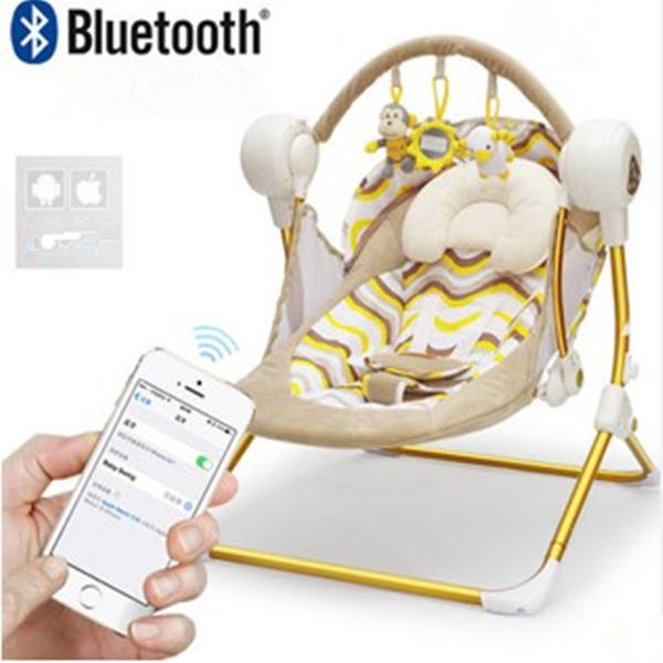 wholesale plastic control cheap rocker sleeping light weight baby rocking dining chair baby swing chair