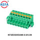 KF2EDGKDAM-5.0/5.08 5.08mm 5mm Pitch Contact Spring Pluggable Plug-In Terminal Block With Screw Holes