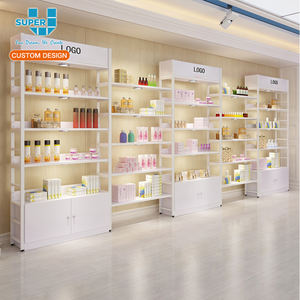 Retail Store Furnitures For Cosmetic Display Cabinet and Showcase