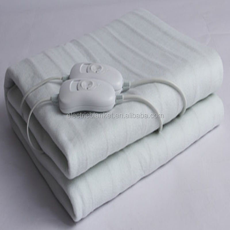 luxurious velvet cover auto heat blanket