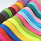 factory wholesale 20 mm colorful polyester crochet elastic band for clothing