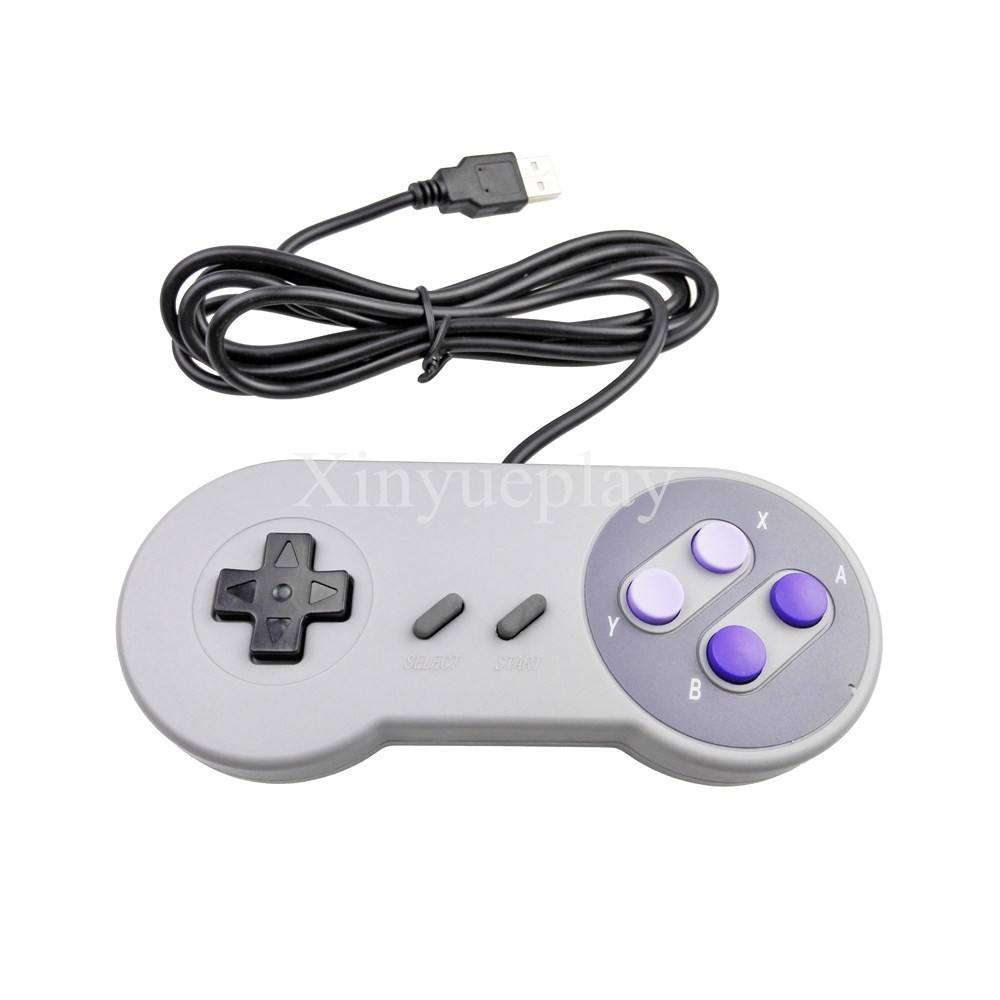 Pc Usb Mini Joystick Video Game Consoles Snes Controller Usb