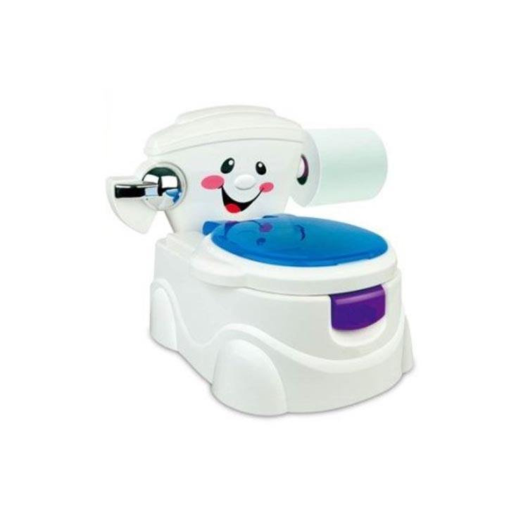 Plastic baby potty baby commode with music