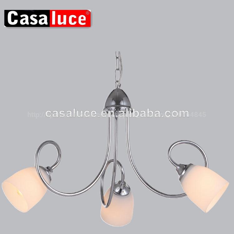 2013 venta caliente moderno de metal simple sala de comedor de la lámpara colgante