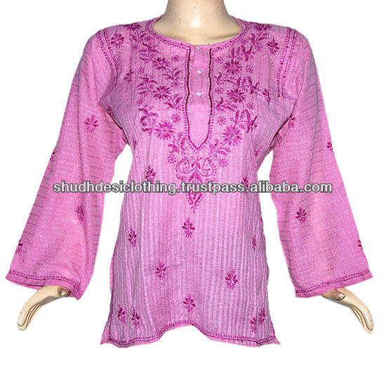 Stylish Lucknow Chicken Kurta / Tunics
