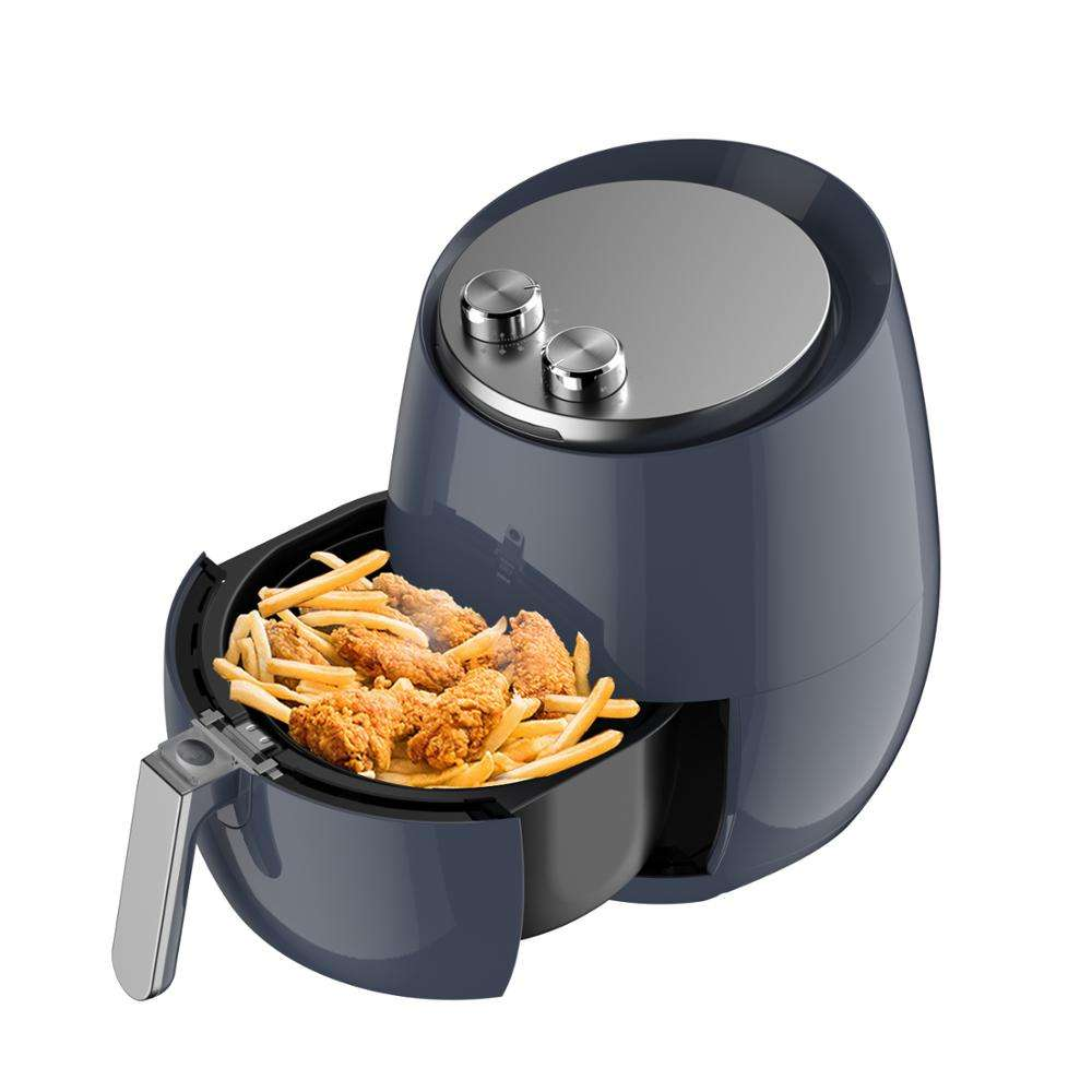 large capacity family hot selling mechanical without oil air fryer with ETL FDA