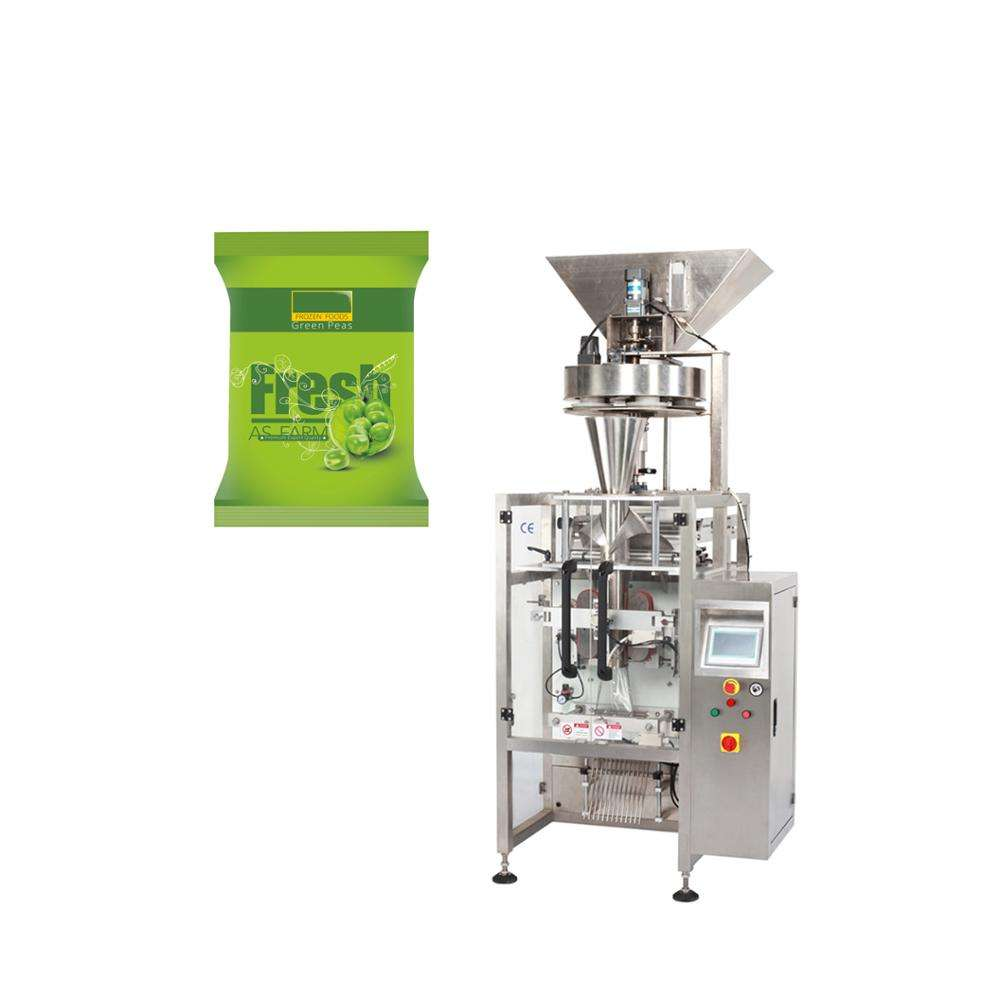 Automatic Snack Food Sunflower Seed Peanut Plastic Bag Packaging Sealing Bean Packing Machine With Printing