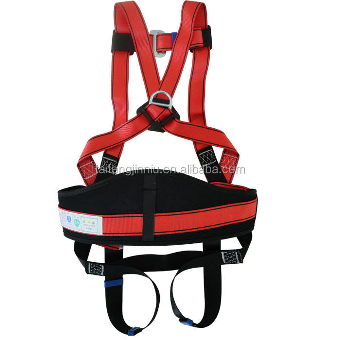JInniu new style 100% polyester industrial safety belt/men leather harness