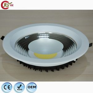 led lamps wholesale china dimmable down light 7w 10w 15w 20w 30w flat COB LED downlight spotlight