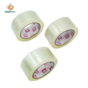 3% Discount Factory price general Purpose Carton Sealing Tape Water-Proof BOPP Adhesive Packaging Tape