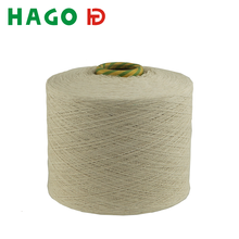 manufacturer nm 10/1 white recycled cotton yarn for knitting glove made in China