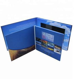 Advertising Player Invitation Booklet Folder Led Lcd Screen Mailer Videocard Video Postcard