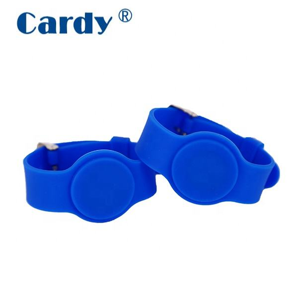 Silicone [ Wristband ] Adjustable Silicone RFID Smart Wristband For Events