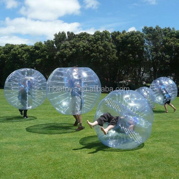 Hola funny walk in plastic bubble ball for sale