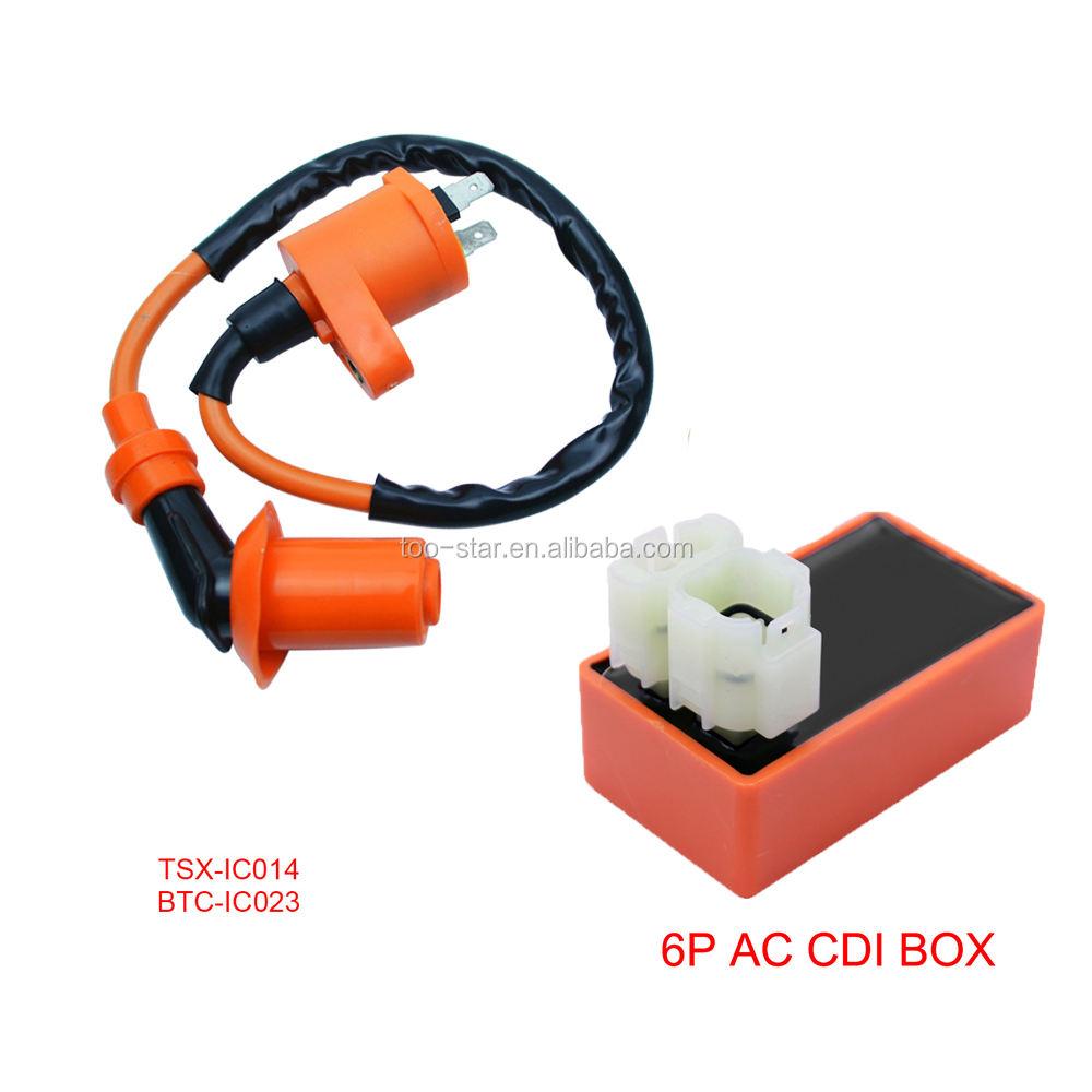 Ignition coil CDI Set For Honda ATC XR CRF TRX 50cc 70cc 125cc 250cc 300cc