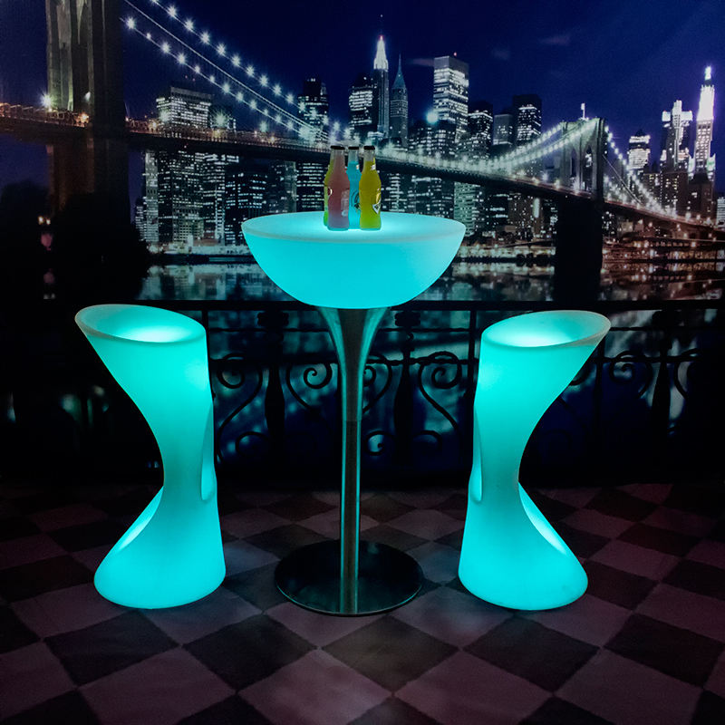LED cocktail table modern bar cocktail table LED furniture