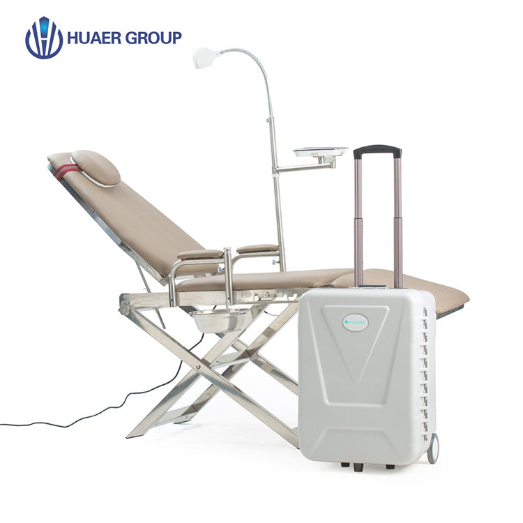 Best Selling Veterinary Equipment Suction Mobile Chair Prices Portable Dental Unit With Ultrasonic Scaler
