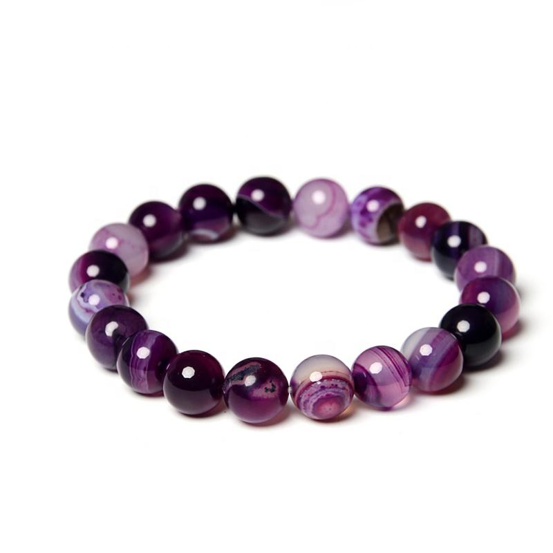 Luxury 12 Colors Agate Bracelet Black Agate Bracelet Manufacturer Competitive Price