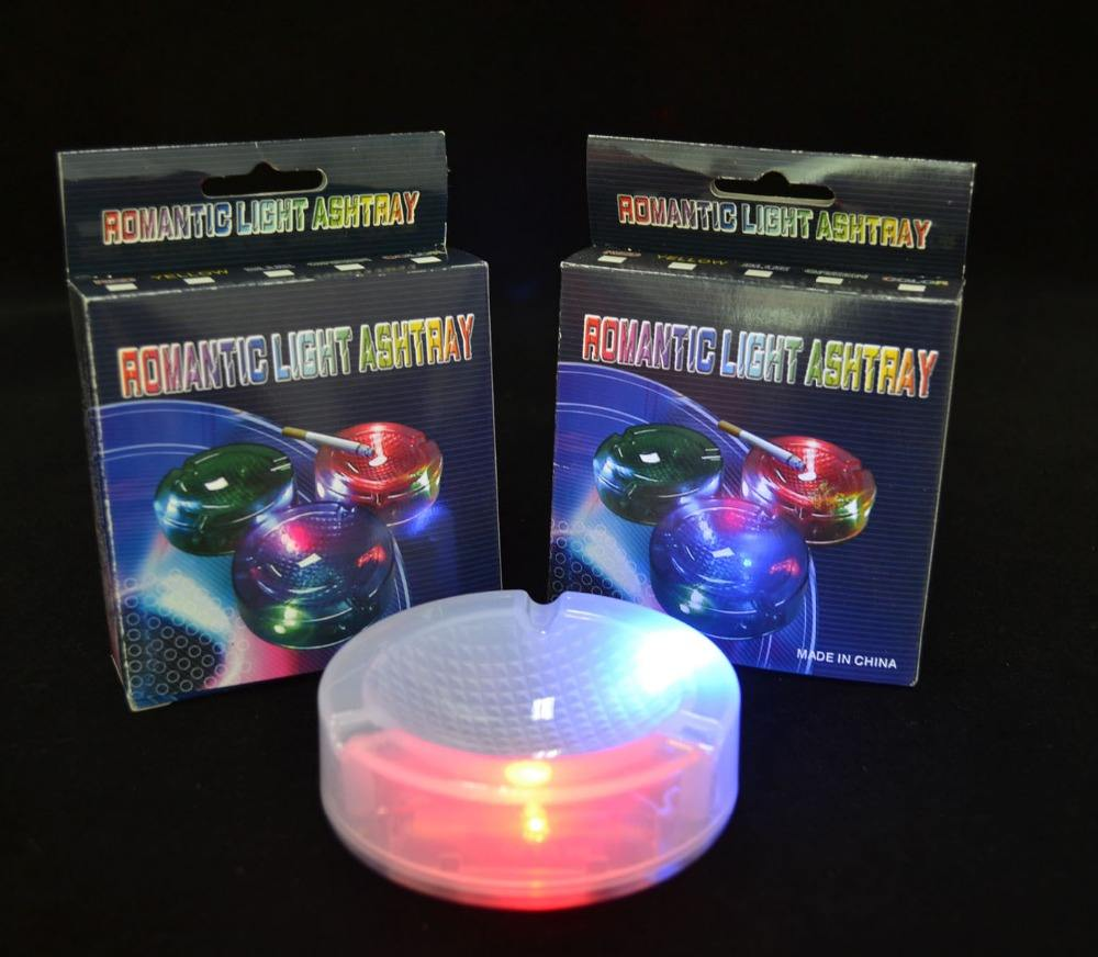 Wholesale Color Changing Illumination Party Led Glow Ashtray For Sale