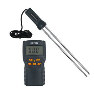 MD7822 LCD Display Digital Contains Wheat Corn Rice Hygrometer Humidity Analyzer Grain Moisture Meter Tester