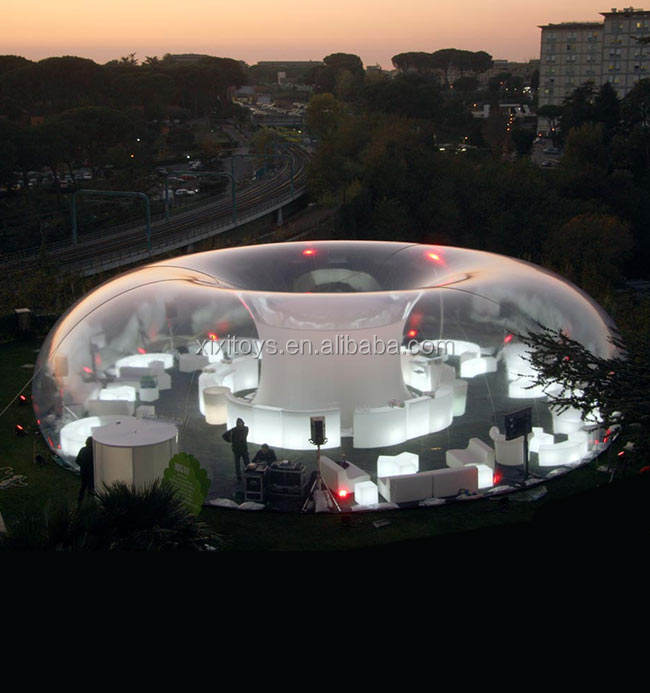 NEW inflatable clear bubble tent for party / Event plan inflatable clear dome house