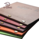 Pu Leather A4/8.5x11 inch Menu Covers For Restaurants