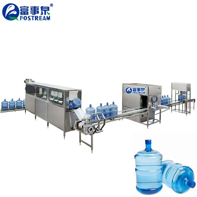 Guangdong 19 Liter 20 Liter 20L Emmer Fles 5 Gallon Water Vullen Lijn/5 Gallon Emmer Drum Jar 5 gallon Water Vulmachine