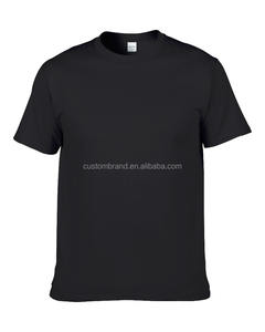 Free shipping 100% American cotton plain t-shirts