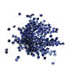 Round Brilliant Cut Synthetic gemstone blue sapphire