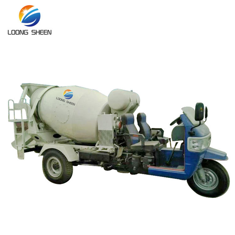 1m3 Heavy Duty Concrete Mixer Truck With Free Concrete Mixer Truck Spare Parts