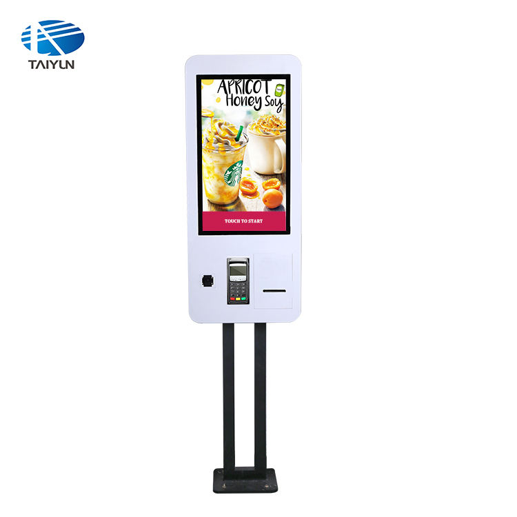 2 years Warranty Self Service Payment terminal Ordering Kiosk with Windows / Android system