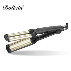 Wave plate pro hair curler crimper waver curling iron
