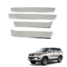 Fortuner door side step sill plates for 2017 fortuner