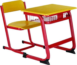 School Furniture Desk and Chair Student Table Seat Single Classroom Furniture Set