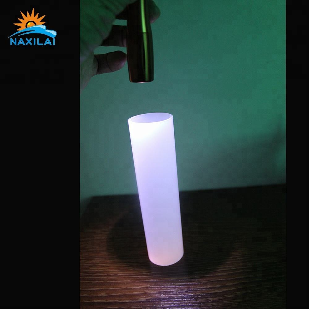 Naxilai Hot Sale Led Lighting Frosted Acrylic Tube Milk White Acrylic Tube Light Diffusing Polycarbonate Tube