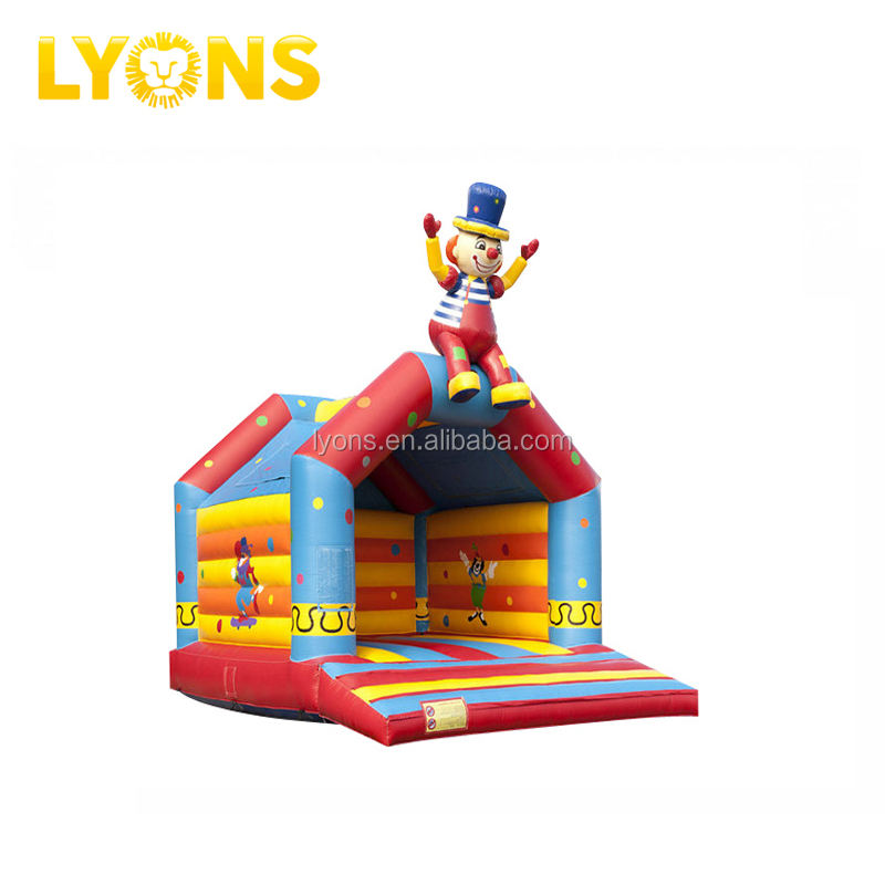 Siêu Chú Hề Nhà Bouncer Inflatable Cho Kids Inflatable Bouncer